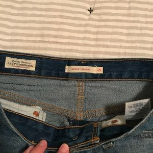 Levi's Jeans - Levi wedgie jeans